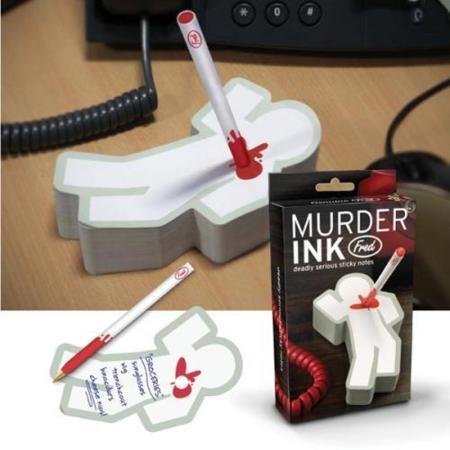 Murder Ink, el bolígrafo asesino