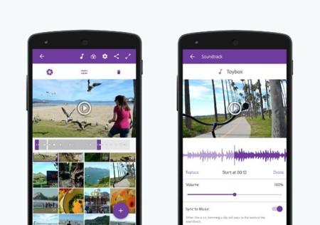 Adobe Premiere Clip permite editar videos en el dispositivo móvil
