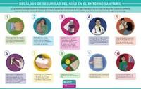 Estas son las medidas para garantizar la seguridad de los niños en el entorno sanitario