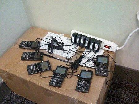 Teléfonos con tarifas de datos en la empresa