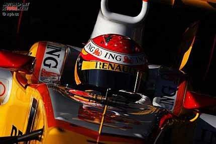 Fernando Alonso lidera los tiempos en Jerez