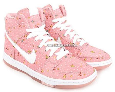 Zapatillas Nike Dunk HI Doves & Butterfly