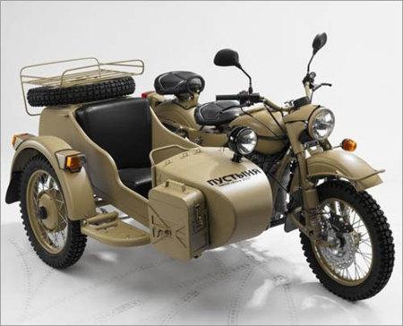 Ural Gear-Up Sahara, una moto de película en edición limitada