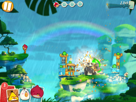 Angry Birds 2 Efectos