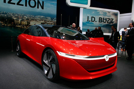 Volkswagen I.D Vission, Salón de Ginebra 2018