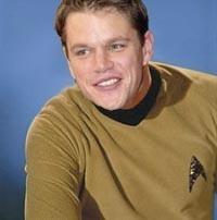 Matt Damon podría interpretar al Capitán Kirk en 'Star Trek XI'