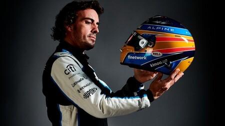 Alonso Alpine Spa F1 2021