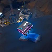 Desafío Fortnite: dónde conseguir el Fortbyte 80 usando el pico Destruyebúnkeres en el borde del volcán. Solución