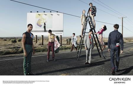 Willy Vanderperre Captura Dos Campanas En Una Sola Para El Otono De Calvin Klein 1