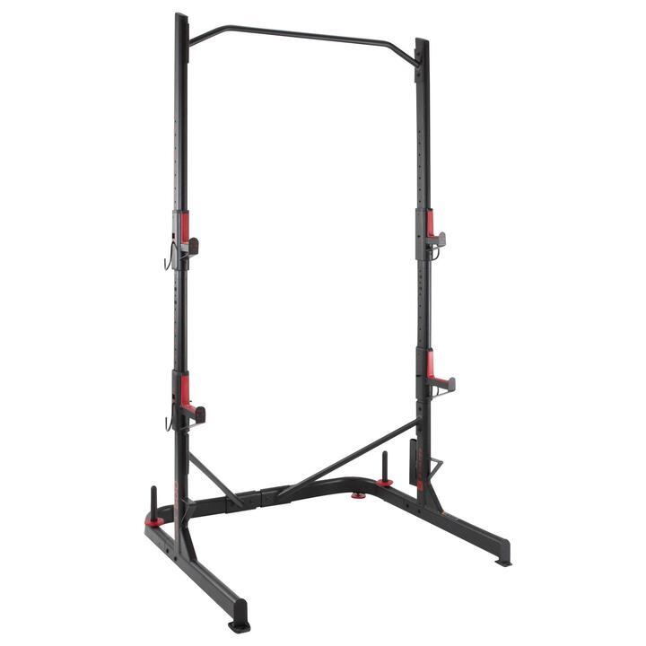 Rack cross training musculación Domyos 500 squat traction
