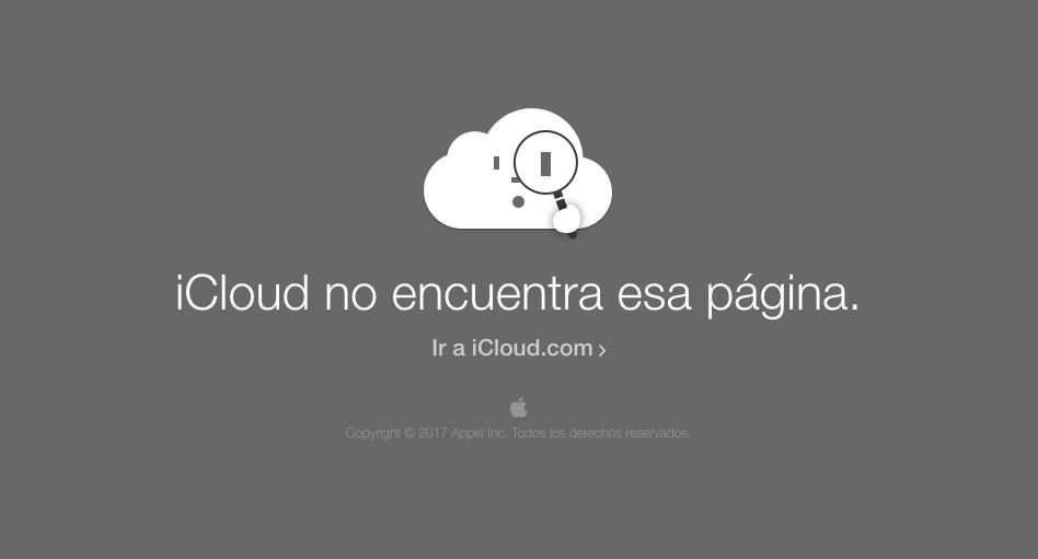 Icloud 404