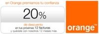 Orange también aplicará descuentos del 20% en tarifa cuando no lleven terminal subvencionado