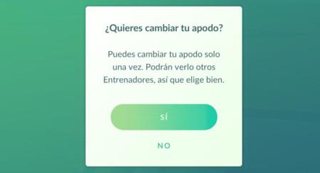 Cómo cambiar tu apodo en Pokémon Go