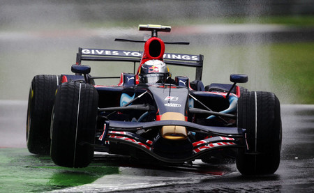Sebastian Vettel Monza 2008