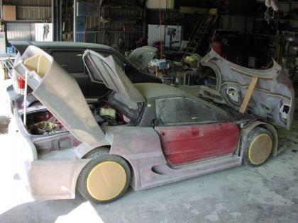 Honda NSX convertido en Ferrari F50