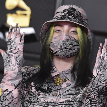 El ir conjuntada hasta la mascarilla es posible y Billie Eilish nos lo demuestra en los Grammy Awards 2021