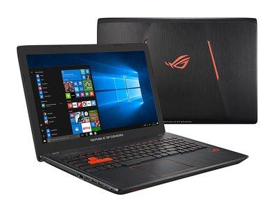 Portátil gaming ASUS GL553VD, con 8GB de RAM y gráfica GeForce GTX1050, por 869 euros y envío gratis