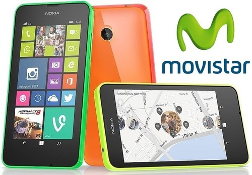 Precios Nokia Lumia 635 con Movistar y comparativa con Vodafone y Orange