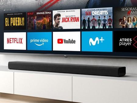 La barra de sonido con Fire TV 4K de TCL está más barata que nunca en Amazon: 148,84 euros
