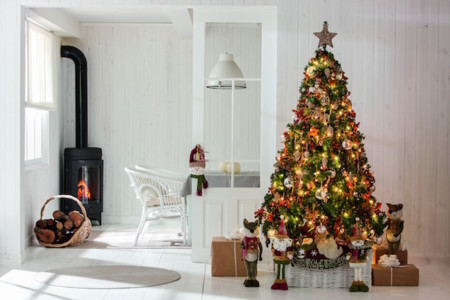 Decoración navideña Leroy Merlin