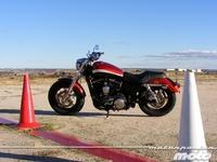 Harley-Davidson XL 1200CA Custom Limited, prueba (conducción en autopista y pasajero)