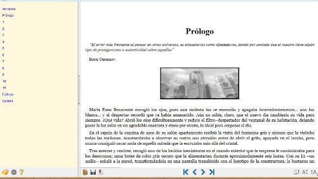 EPUBreader: una extensión para Firefox