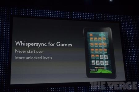 El 'Game Center' de Amazon ya es una realidad, y se llama Whispersync