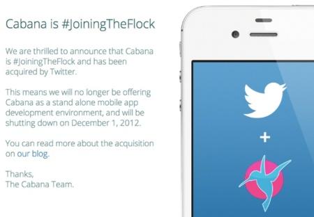 Twitter adquiere Cabana, una aplicación de diseño de interfaces móviles