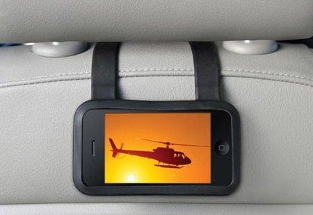 Seat Buddy, funda con correa para ver el iPhone mientras viajas