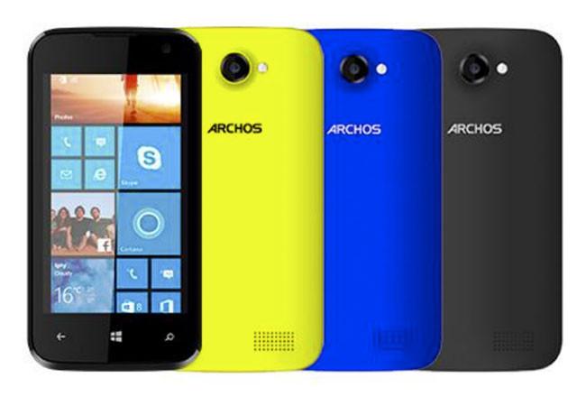 Archos ya tiene su primer Windows Phone, a tiempo para IFA 2014