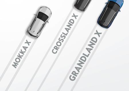 Opel Mokka X, Crossland X y Grandland X