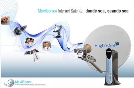 Internet por satélite, consiguen ofrecer 5Mbps en EEUU