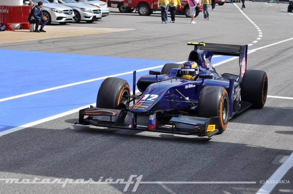 Foto de GP2 2013 Barcelona (74/138)