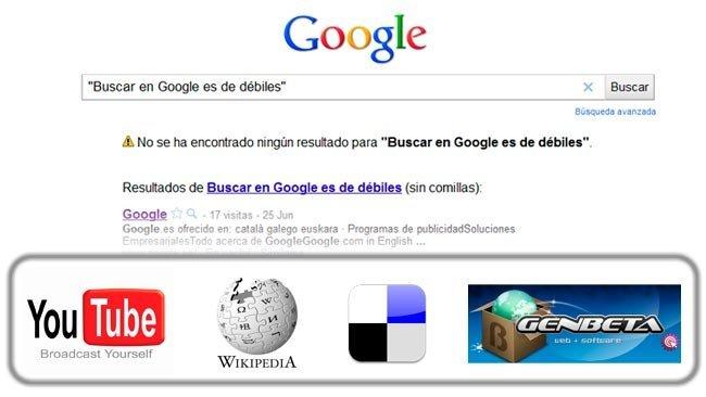 Buscar en Google es de débiles