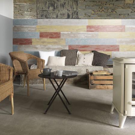 Apúntate a decorar con madera, sin usar madera. Revestimientos sorprendentes