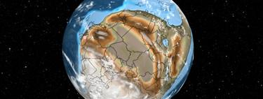 Ancient Earth, el mapa interactivo que te permite ubicar tu casa en lo que una vez fue Pangea