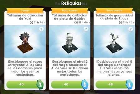 Los Sims Ios Reliquias