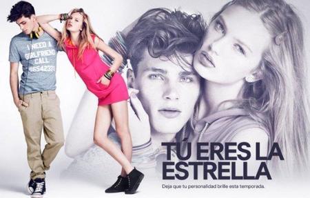 'Tú eres la estrella' la nueva campaña de H&M Divided para esta Primavera-Verano 2012