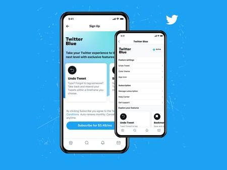 """Twitter Blue es oficial: la suscripción mensual con """"beneficios exclusivos"""" como deshacer tuits y crear marcadores de contenido"""