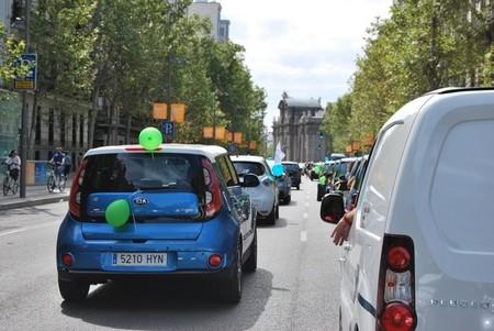 La Marcha del vehículo eléctrico en Madrid crece y se acerca al centenar de coches