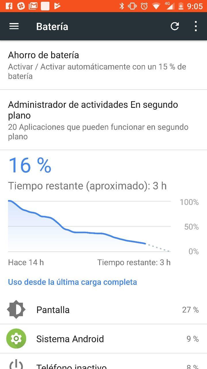Foto de Batería benchmarks Nokia 8 (2/3)