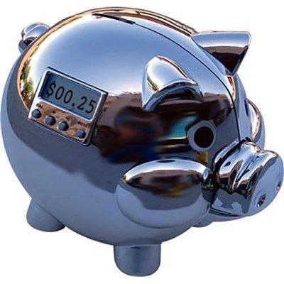 Contabilizador de dinero en forma de... ¡cerdo!