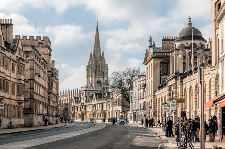 David Nicholls Oxford High Street