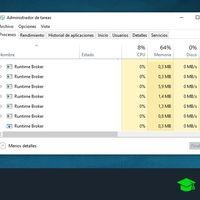 Runtime Broker: qué es, cómo funciona y cómo evitar su consumo excesivo de CPU y RAM