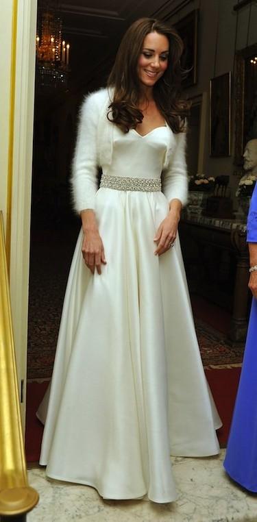 El segundo vestido de la princesa Catalina para el día de su enlace