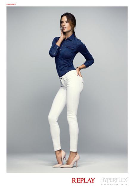 Alessandra Ambrosio Replay Barcelona Jeans