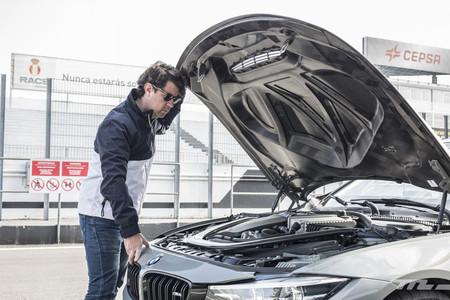 BMW M4 CS vista motor