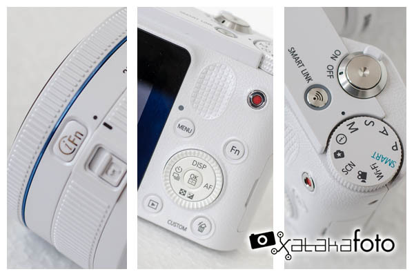 Samsung NX1000 - Detalles