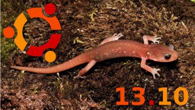 Ubuntu 13.10 Saucy Salamander y familia, listos para descargar