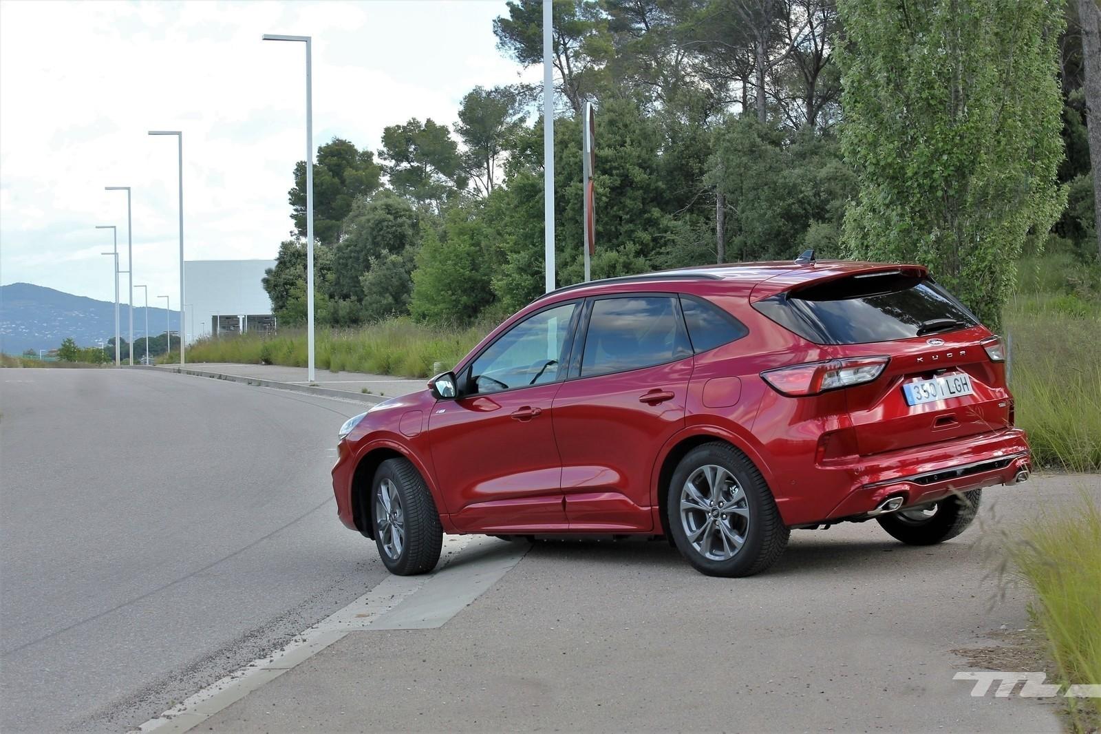 Foto de Ford Kuga 2020 - prueba (29/55)